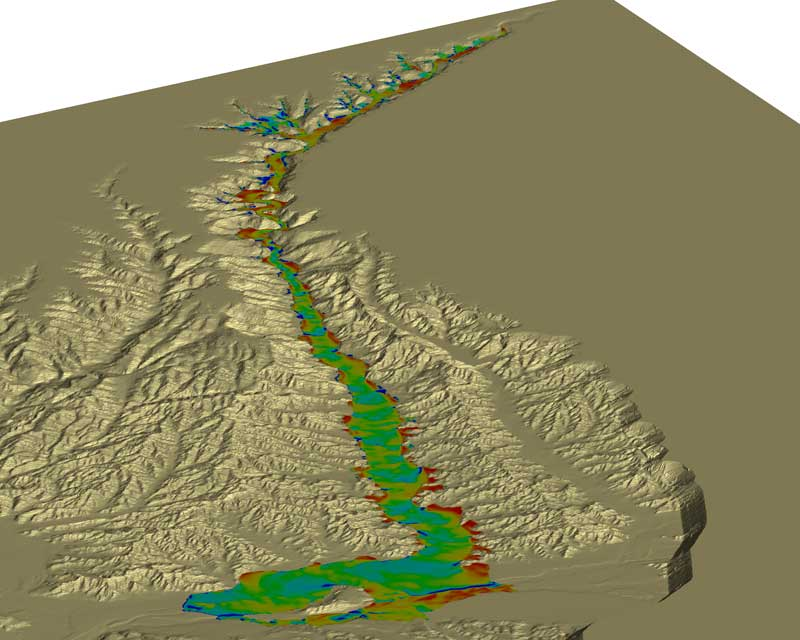 FLOW-3D is the ideal software to model dam breaks