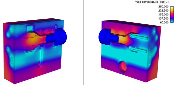 Thermal die cycling modelling improvements in FLOW-3D Cast v4.0.2