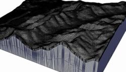 Flash flood simulation