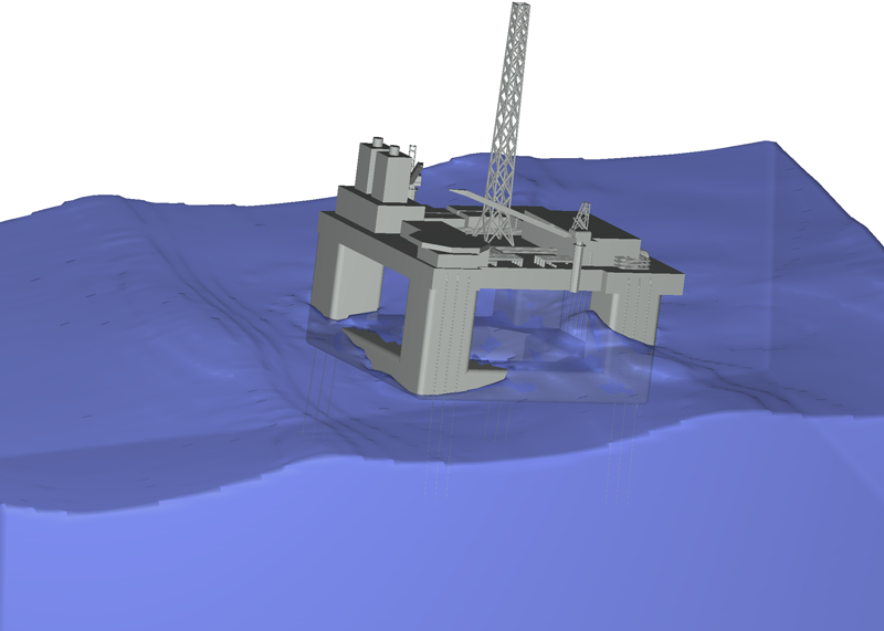 Offshore Structures Flow 3d Cfd Applications For The