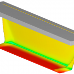 The TruVOF technique is demonstrated in a curtain coating simulation
