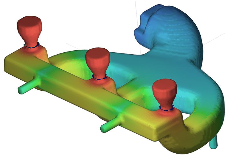 Core drying simulation flow3d cast