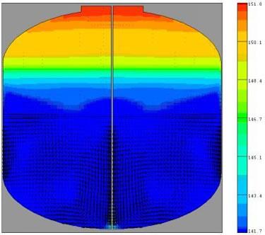 Cryogenic tank multiphase flow simulation