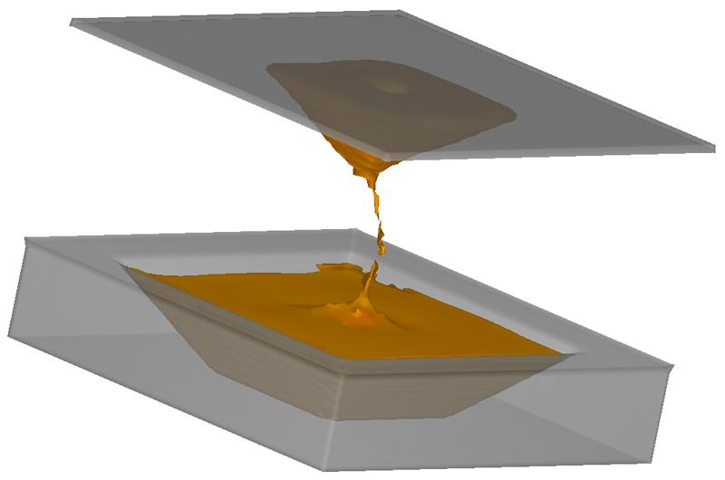 Gravure printing simulation