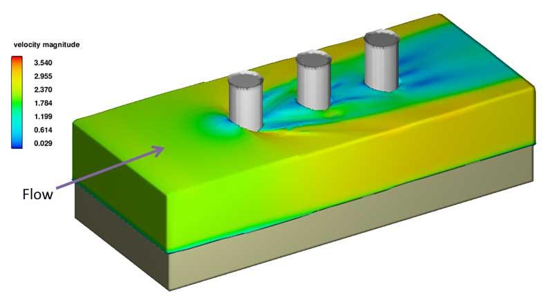 Sediment scour model in FLOW-3D