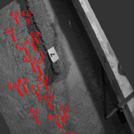 Cfd simulation water velocities cofferdam