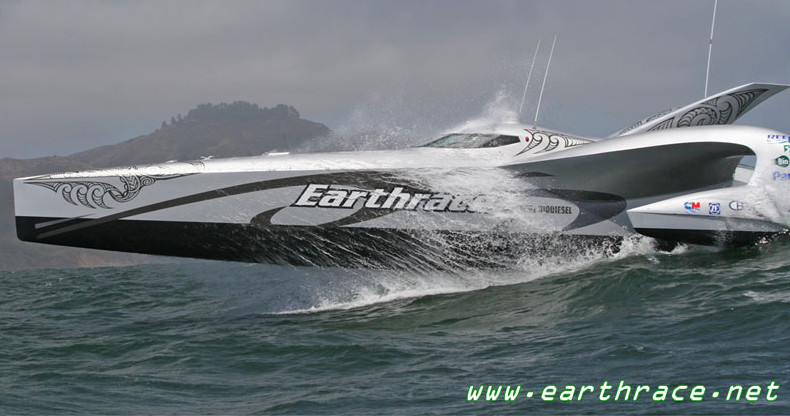 Earthrace vessel