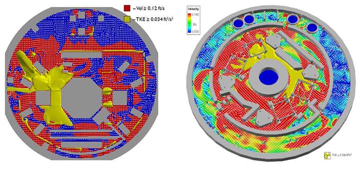Modeling velocity of debris types