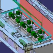 Powerhouse HAVC system model