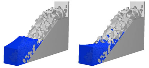 Emerged Breakwater - Accropode irregular