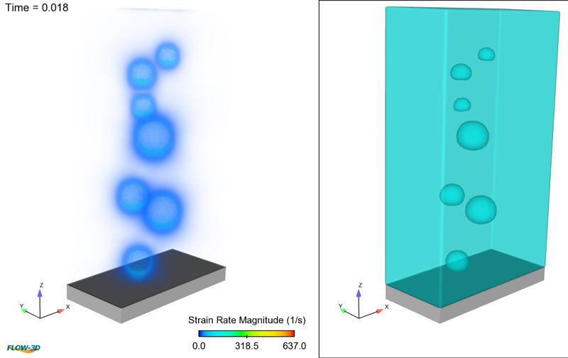 Volume render visualization using FlowSight