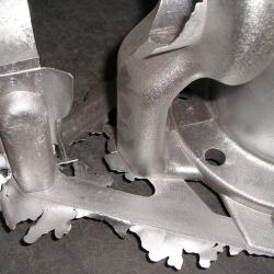 Gravity casting mould