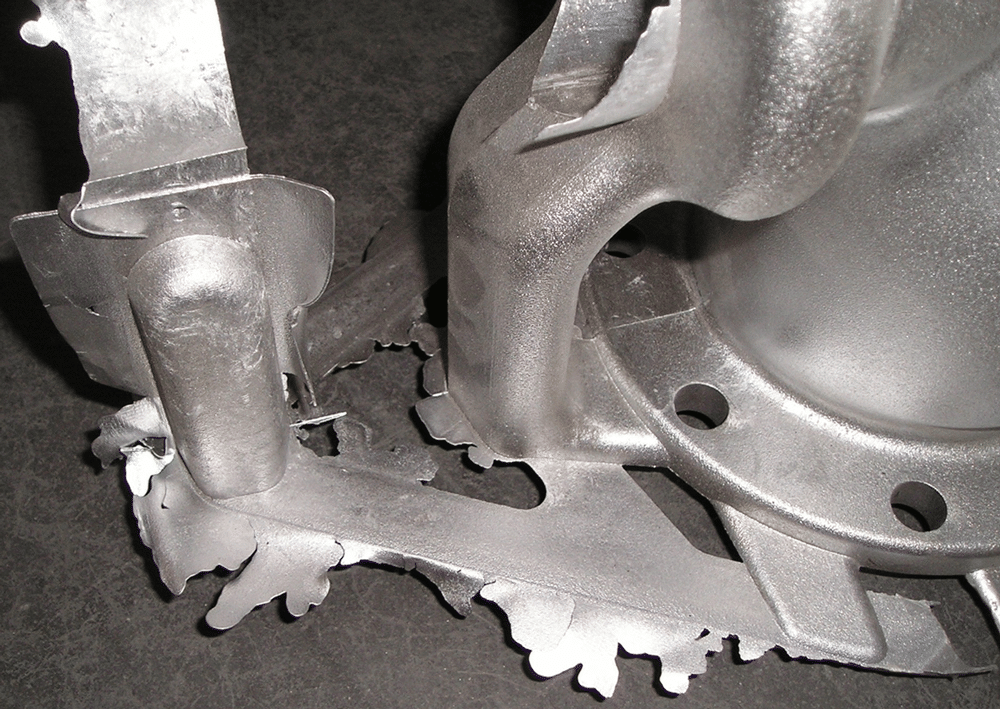 Gravity casting mould