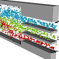 Continuous Flow Microfluidics
