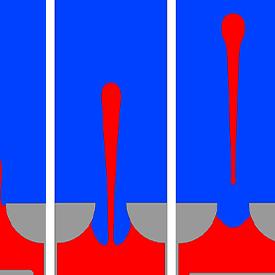 Piston driven inkjets simulation