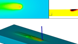 Laser Metal Deposition and Fluid Particles