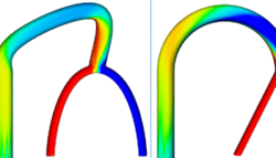 Increasing Mixing in Microchannels using Design Optimization