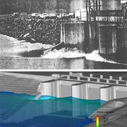 Spillway hydraulics assessment