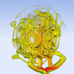 Gate activation high pressure die casting simulation