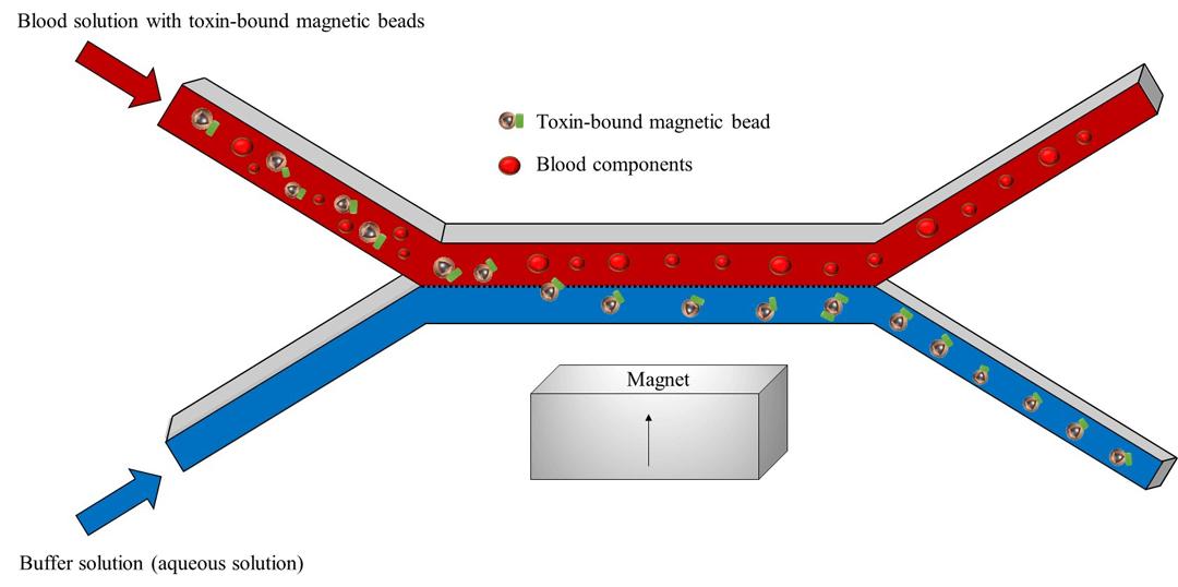 Microfluidic bioseperator