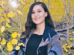 Llizeth Anaya Flow Science intern