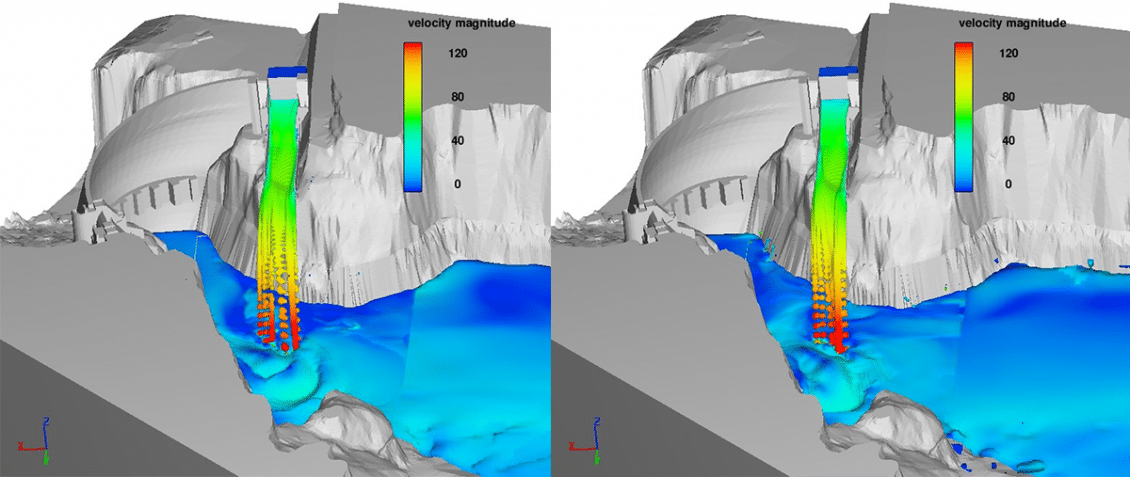 Boundary Dam Hatch FLOW-3D