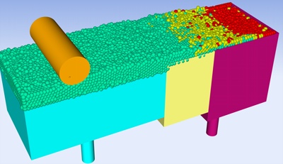 Powder bed spreading FLOW-3D AM