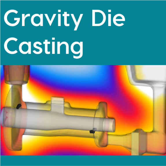 FLOW-3D CAST Gravity Die Casting Workspace