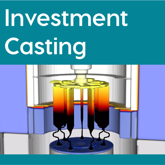 FLOW-3D CAST Investment Casting Workspace