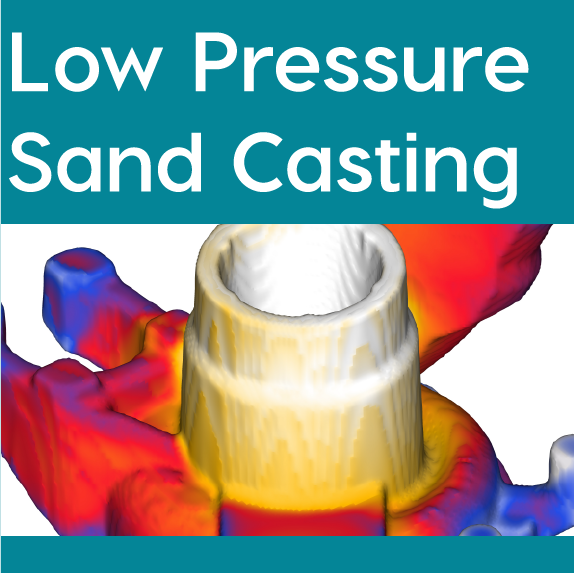 FLOW-3D CAST Low Pressure Sand Casting Workspace