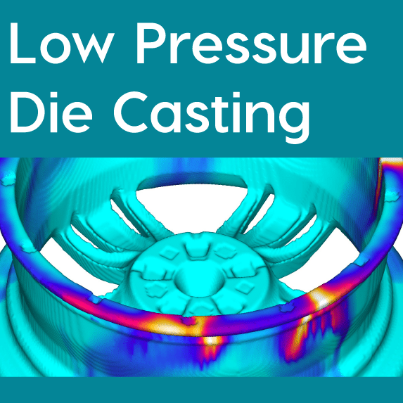 FLOW-3D CAST Low Pressure Die Casting Workspace