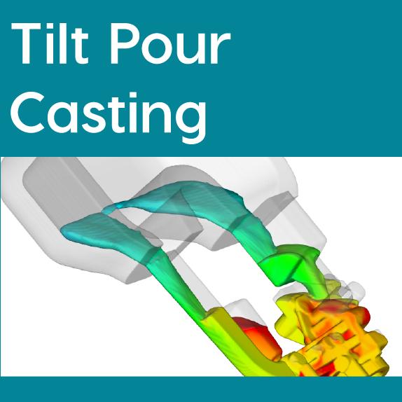 FLOW-3D CAST Tilt Pour Casting