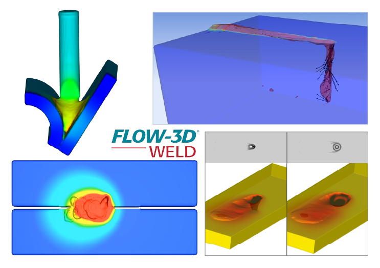 Modeling Laser welding with FLOW-3D WELD