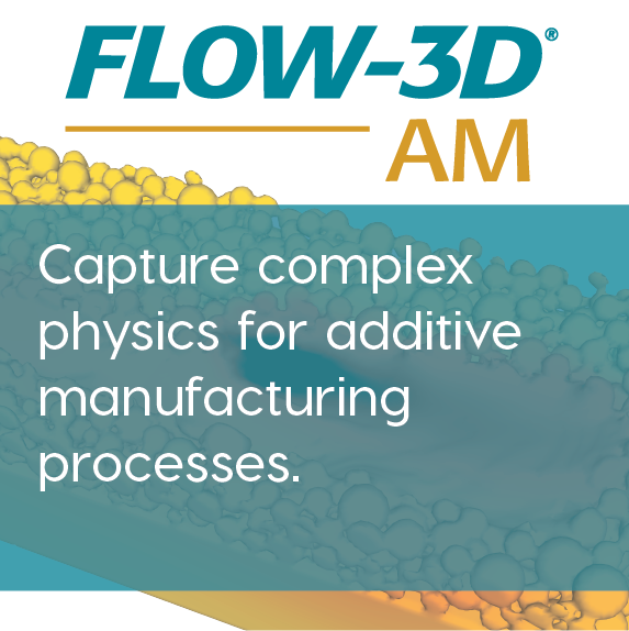 FLOW-3D AM CFD software