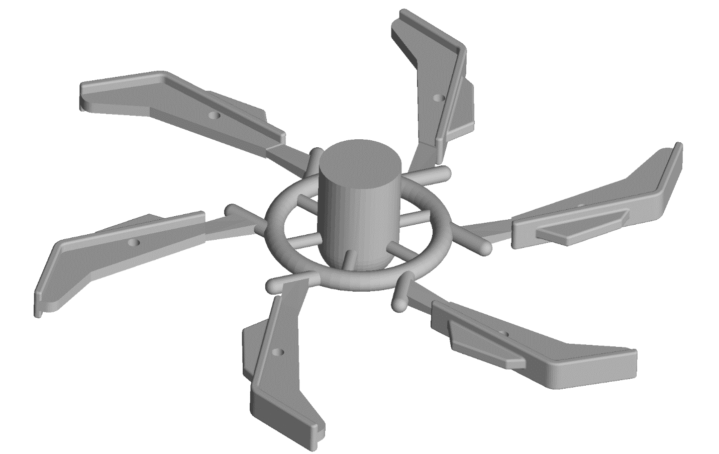 Centrifuge casting mold