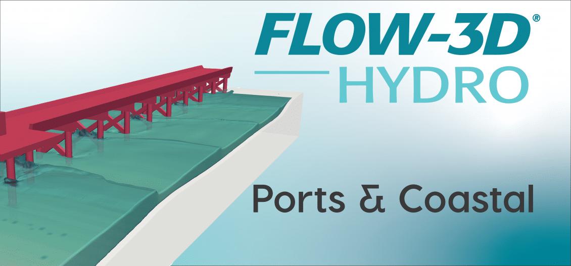 FLOW-3D HYDRO ports and coastal