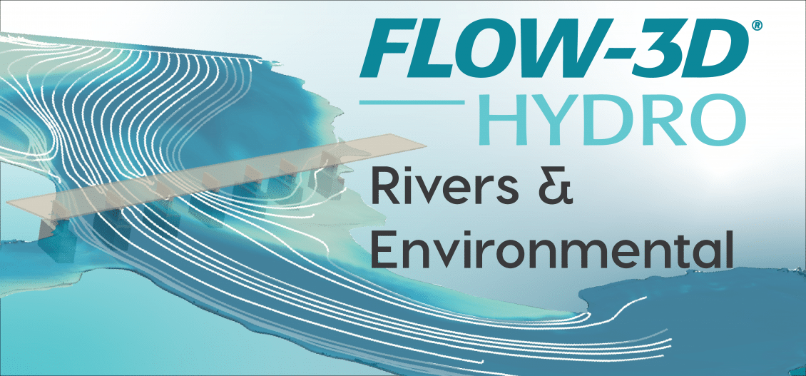 FLOW-3D HYDRO rivers and environmental
