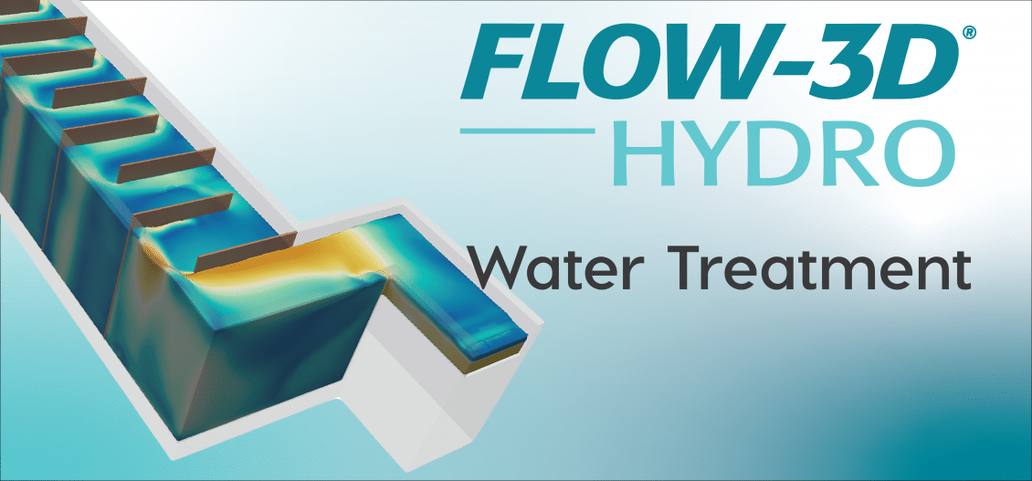 FLOW-3D HYDRO water treatment