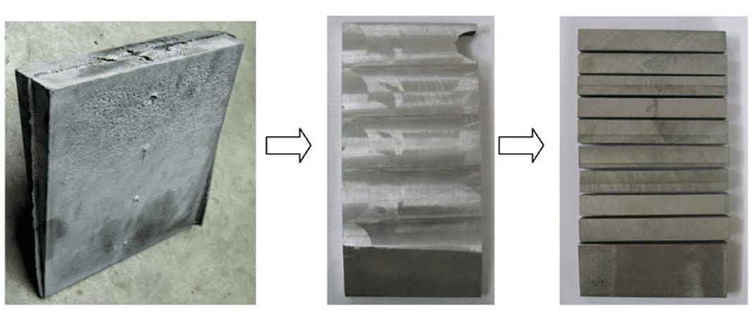 Test bars - FLOW-3D CAST Solidification Model