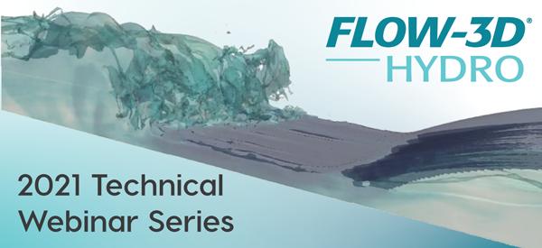 FLOW-3D HYDRO technical webinar series page link