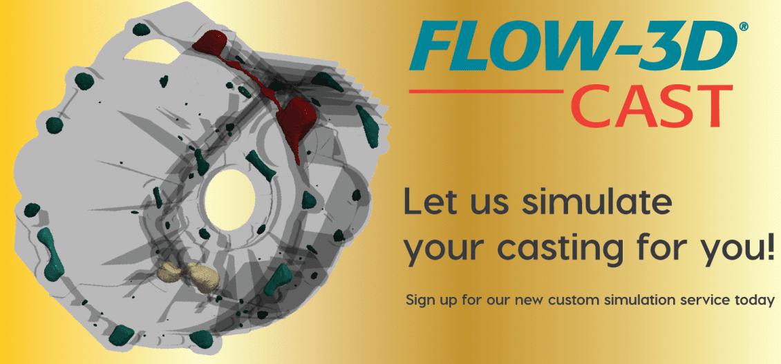 Metal casting simulation services