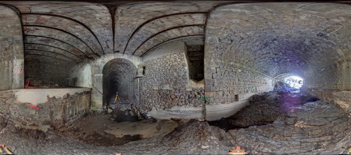 Tunnel 360 view