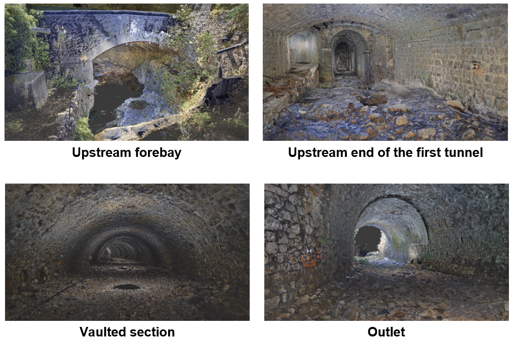 Tunnel photographs