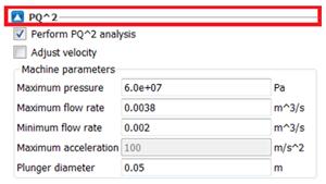 Defining machine parameters