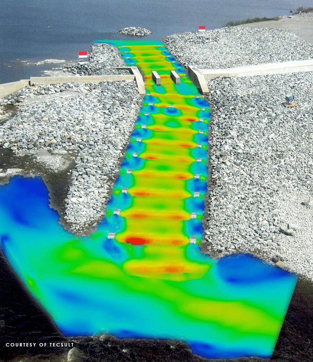 Fishway simulation