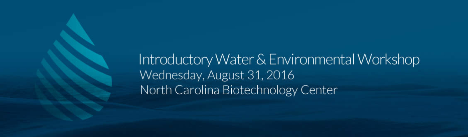 Introductory water and environmental workshop