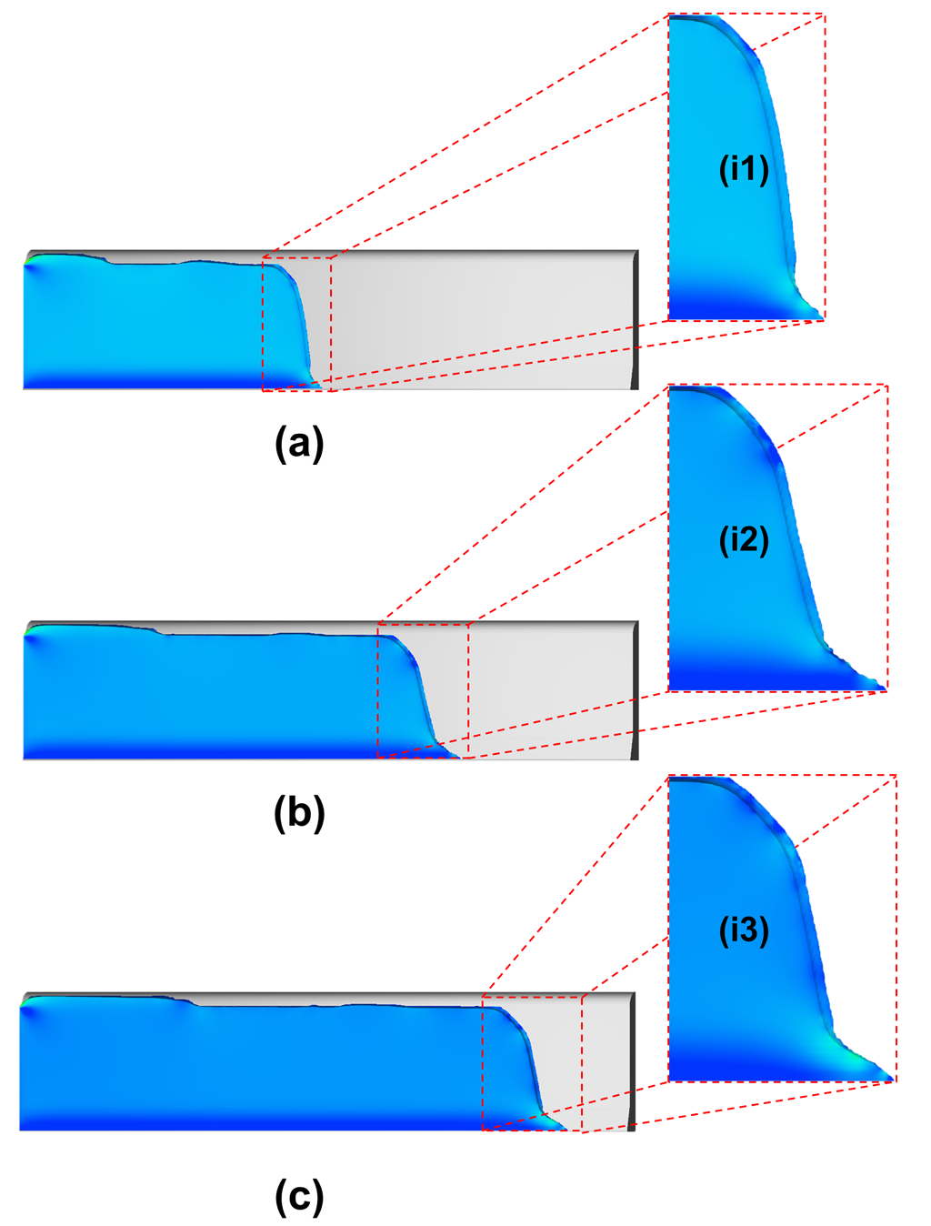 Simulating capillary flow